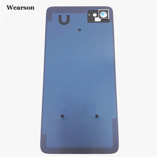 best authentic c90a7 6c923 US $19.99 |For Lenovo ZUK Z2 Back Cover Camera Glass Frame Z2 PLUS Z2Plus  Battery Cover Glass+Glue New Free Shipping With Tracking Number-in Mobile  ...