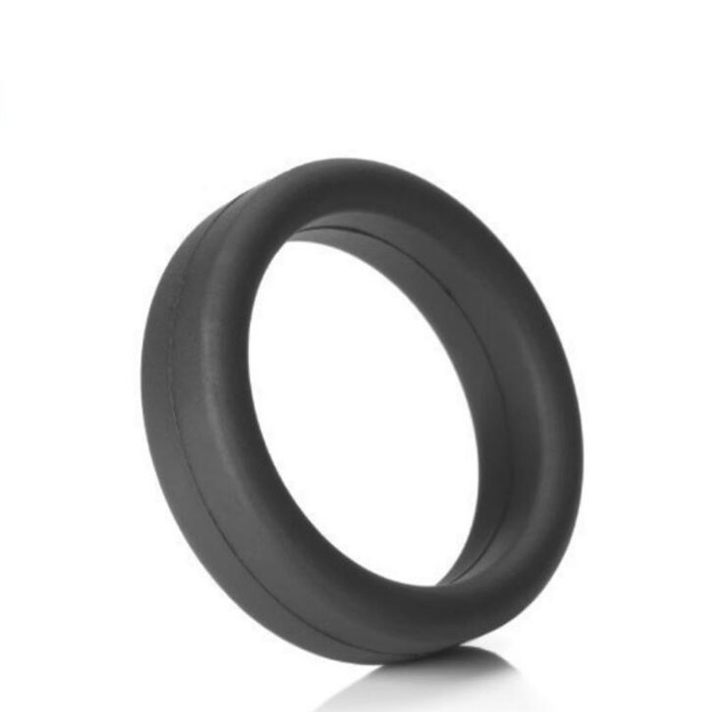 5-in-1 Penis Ring Soft Elastic Vibrating Sex Rings Time Delay Cockring Cock Ring Sleeve Waterproof Sex Toys for Male Men 18
