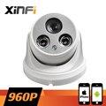 Xinfi HD 1280 * 960 P câmera IP de rede CCTV interior câmera de 1.3MP P2P ONVIF 2.0 de PC e remoto