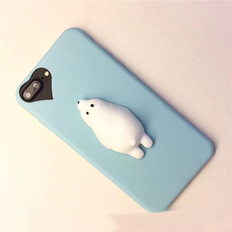 Squishy Bread Iphone 6 Case : Polar Bear Squishy Phone Case for iPhone