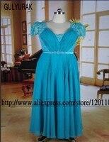 Vestidos De Festa 2015 Evening Dresses Elegant Long Formal Dresses Long Evening Gowns Cap Sleeve Sleeveless