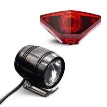 Onature Электрический свет для велосипеда комплект с фара для электрического велосипеда и e велосипед хвост свет как DC6V 12 V 24 V 36 V 48 V удовлетворения Stvzo привело ebike свет