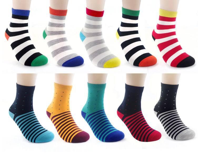 ღ ღEnvío libre algodón peinado marca hombres calcetines, colores ...