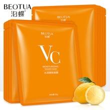 Vitamin V C skin care face sheet mask facemask facial masks korean face mask Whitening women beauty and health