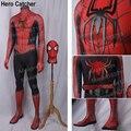 Hero Catcher High Quality Custom Made New Raimi Spiderman Costume With 3D Spider Spandex Suit New Comic Raimi Spiderman Suit