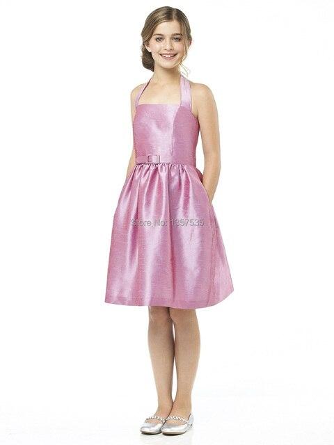 Nuevo diseñador 2014 júnior desfile de chicas vestidos Sashes ...