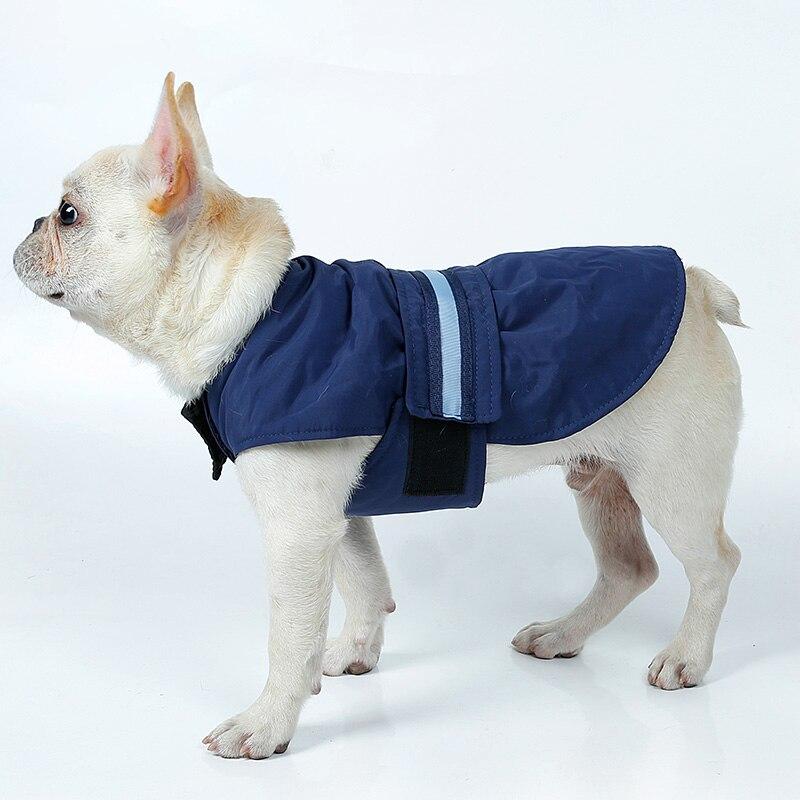 Dog Clothes With LED Light Large Dog Coat Waterproof Nylon ...
