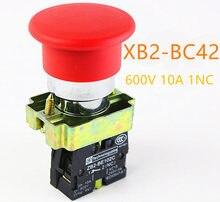 1 шт., высококачественный быстродействующий кнопочный переключатель в виде грибовидной головки диаметром 40 мм