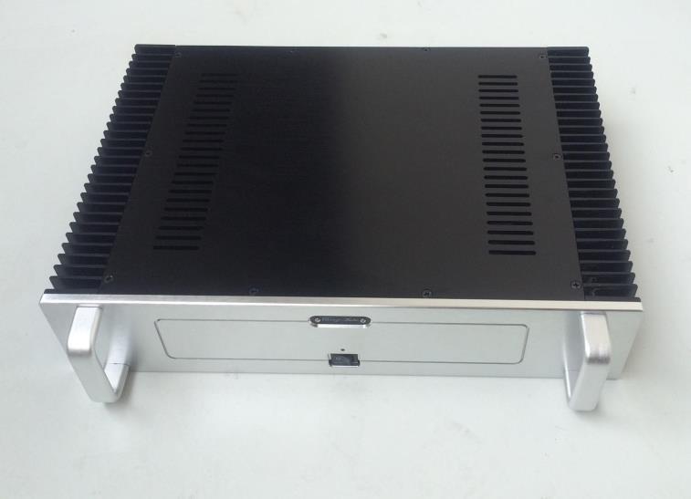 Корпус усилителя мощности/алюминиевый корпус блока питания корпус усилителя/DIY amp Корпус