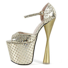17d93aa45c Open Toe Sexy High Heels Women Shoes Platform Shoes Summer Sandals  Extremely High Heels 19cm Wedding