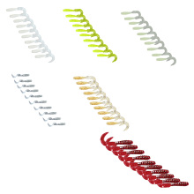 10pcs 6cm Soft Bait Sea Fishing Tackle Wobbler Jigging Fishing Lure Silicone Bait Soft Worm Shrimp