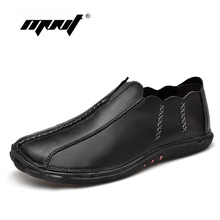 Fashion Shoes Men Genuine Leather Casual Shoes Comfortable Platform Slip On Driving Shoes Classic Loafers Moccasin цены онлайн