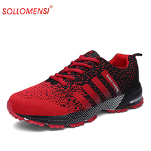 2016 spring lovers running shoes style for jogging sports shoes  comfortable light weight sneakers for men air mesh size 35-46
