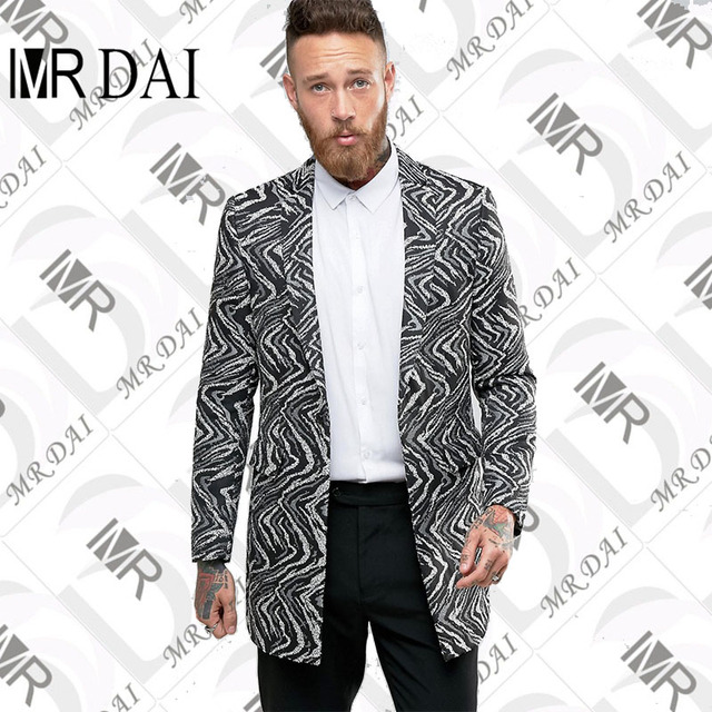 1b2f0ce54d8 MD-031 Custom Business men suit Made Mens Black + white pattern Prom Suits  New Arrivals Party tuxedos Wedding Suits Jacket+Pants