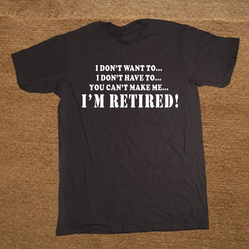 Online Get Cheap Funny Retirement T Shirts
