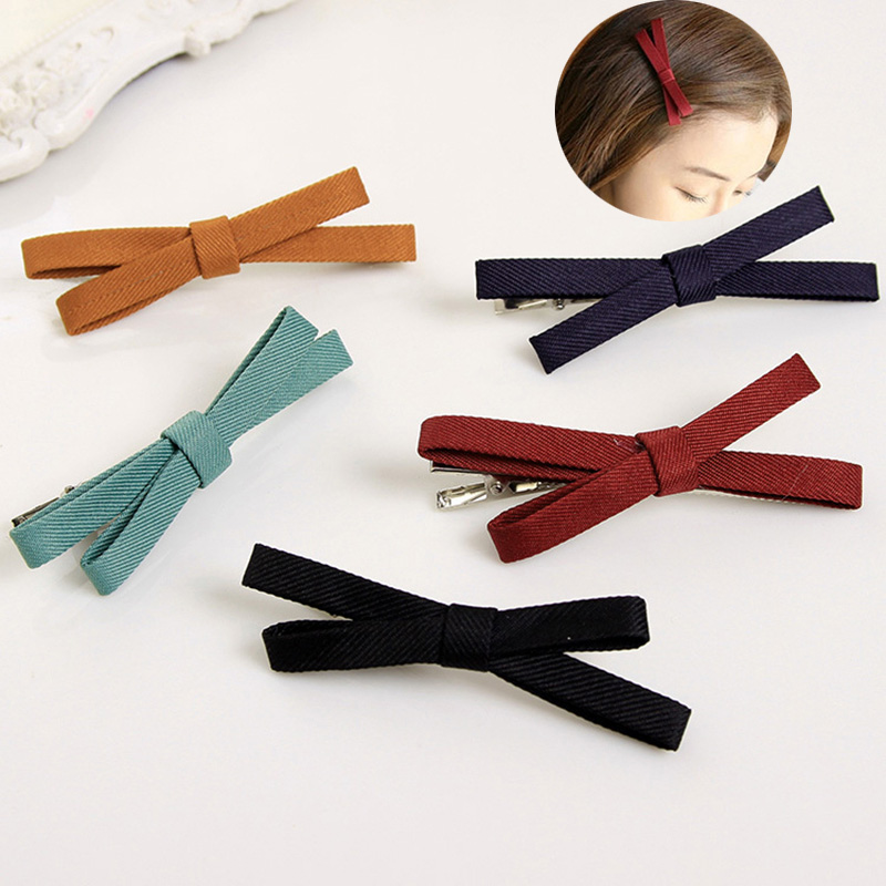 7 PCS Lovely Bows Female Barrettes Hairpin Hair Clips Headband Hair Accessories For Women & Girls Headwear  cute little girls barrettes hair clips crystal crown bow hairgrip safety headband for princess kids hairpin hair accessories a0