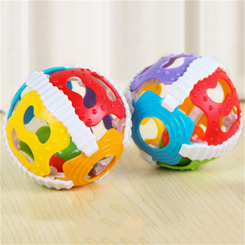 Baby Toy Fun Little Loud Bell Ball Baby Ball Toy Rattles Develop Baby Intelligence Baby Activity Grasping Toy Hand Bell Rattle boys girls baby activity toy fun little loud ball toy rattles develop baby intelligence grasping toy molar hand bell rattle