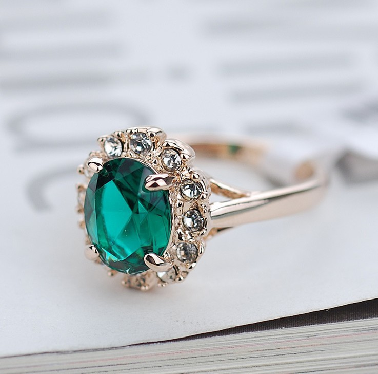 7e590c8578ac Súper ventas de oro rosa anillos
