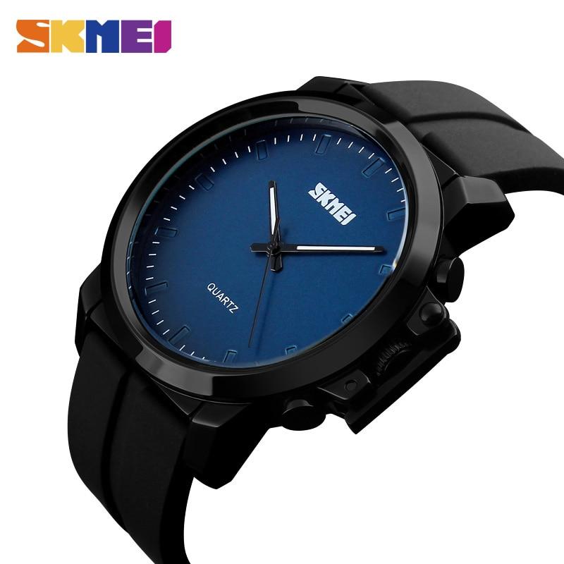 Skmei 2018 marca de lujo superior de negocios reloj de cuarzo reloj - Relojes para hombres