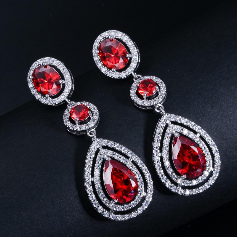 CWWZircons Super Luxury կանանց զգեստների զարդեր - Նորաձև զարդեր - Լուսանկար 4