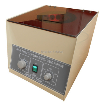 80-2 Desktop Electric Medical Lab Centrifuge Laboratory Centrifuge 4000rpm CE 12 x 20ml w/ timer 0-60 min