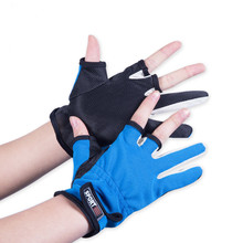 Free Shipping 2016 New Top Quality Anti Slip Fishing Gloves/Outdoor Sports Slip-resistant Fishing Gloves outdoor