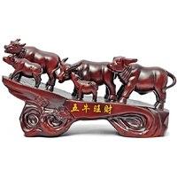Wuniu Cai корова украшения открытие нового дома семейная гостиная комната офис бизнес подарков ремесленные украшения