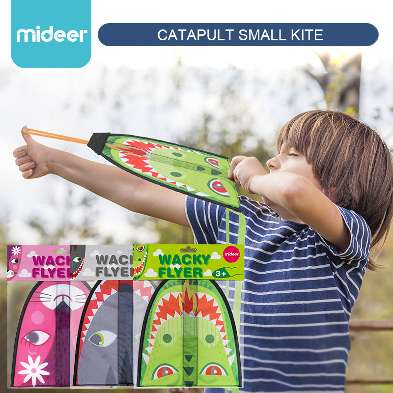 Mideer Children Portable Cartoon Catapult Small Kite Wacky