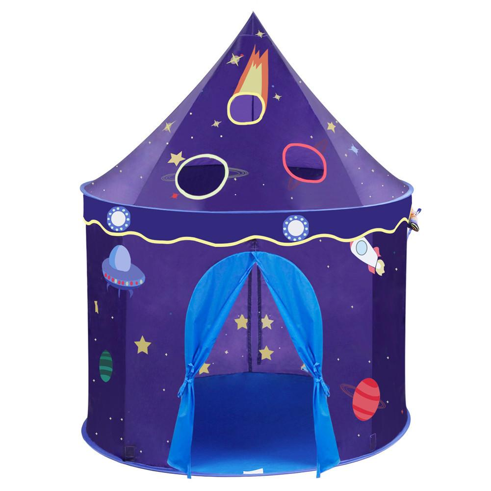 Enfants jouet Camp tentes château Playhouse espace thème pliable petit Prince tente galaxie jeu maison tente enfants cadeau jouet