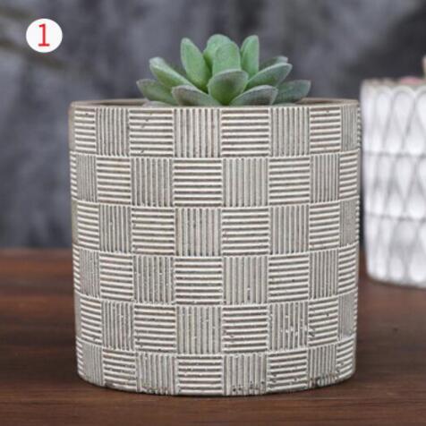 molde tanque de concreto carnudas planta vaso