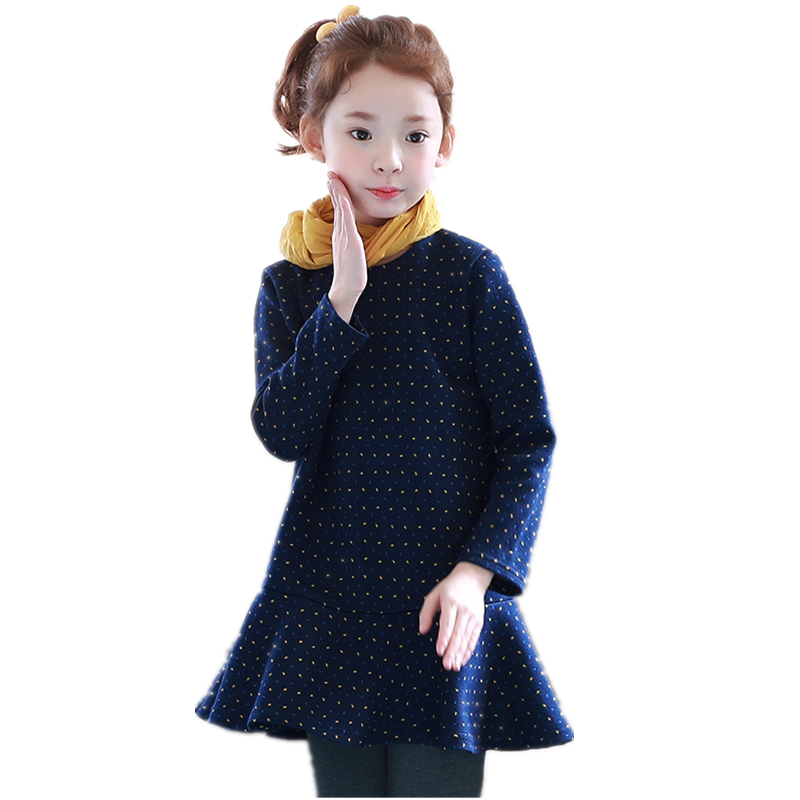 School Girls Dress Children Clothing Brand Clothes Kids Dresses for Princess Holiday Party Wedding Toddler Autumn Costume H166 girls dresses for party and wedding children clothing cheongsam lace evening princess costume kids clothes korean style belle
