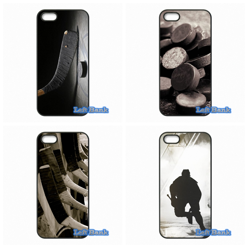 I Love Ice Hockey Phone Cases Cover For Apple iPhone 4 4S 5 5S 5C SE 6 6S 7 Plus 4.7 5.5 iPod Touch 4 5 6