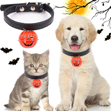 Pet Dog Bell Collar Small Dogs Cat Adjustable Pet Collars Halloween Personalized Dog Leash Suitable for Small and Medium Pets матрас аскона mediflex kids star 90x200