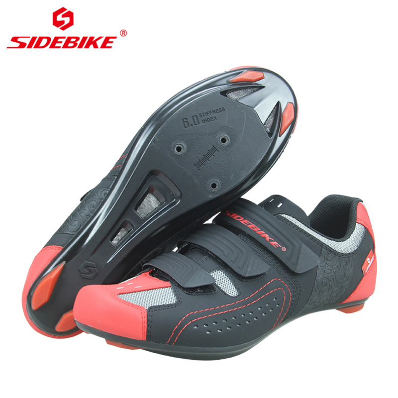 SIDEBIKE road bicycle shoes new outdoor sports bicycle lock shoes non slip wear resistant bicycle road