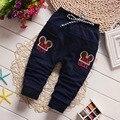 2016 мальчиков брюки для детей брюки девушки джинсы ребенка мальчиков шаровары девочка одежда ребенка одежда детская одежда