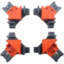 Woodworking Fast Fixture Clip Drilling Locator Hole Corner Retainer 4Pcs/Set