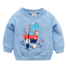 2019 Boys Girls T-Shirt Baby Boy Clothes Kids Long Sleeve T-shirts For Girls Children Animal Duck Pattern boys girls t shirt baby boy clothes kids long sleeve t shirts for girls children animal duck pattern
