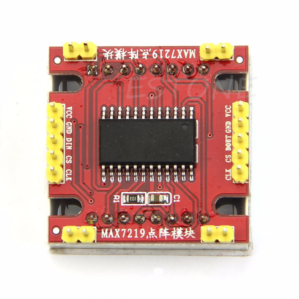MAX7219 Dot led matrix module MCU control LED