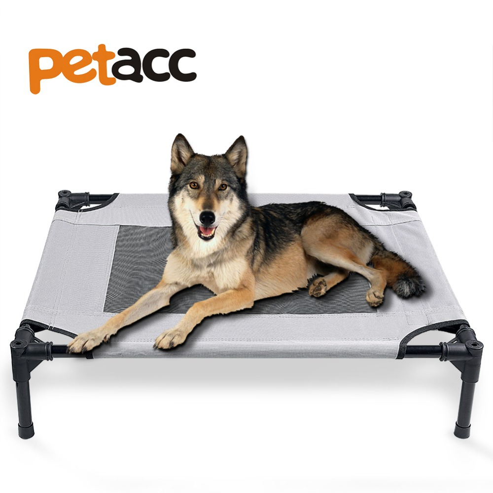 petacc pet bed elevated pets beds mesh pad dog house for pets breathable superior weight capacity - Elevated Dog Beds