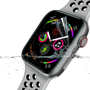 Image 2 - Suntaiho Tpu Volledige Dekking Protector Film Voor Apple Horloge 4 40/44 Screen Protector Voor I Horloge Serie 1/2/3 38/42 Mm (Geen Glas)