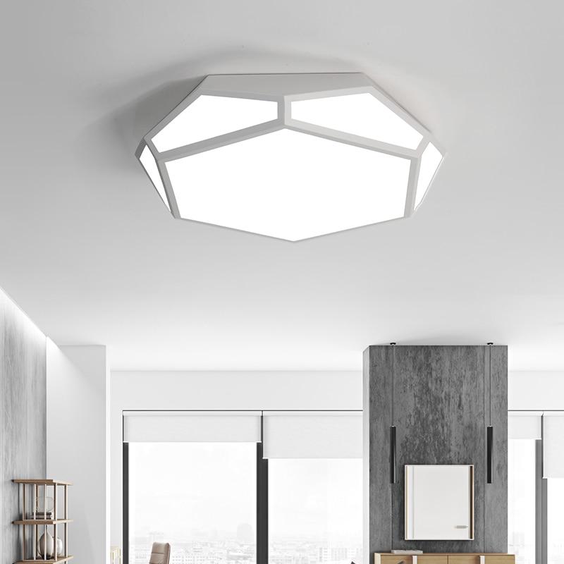 Modern LED Ceiling lights for Bedroom Foyer Misplaced square design ...
