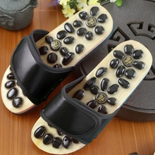 Magnet Stone Foot Massage Slippers Reflexology Health Acupuncture Health Shoes Slipper Healthy Massager Pebble Feet