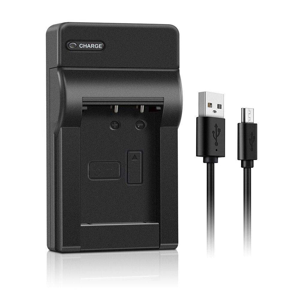 цена на Conenset EN-EL19 USB charger For Nikon Coolpix S4100 S4150 S4200 S4300 S4400 S5200 S6400 S6500 S6600 S6900 S7000 Camera Battery