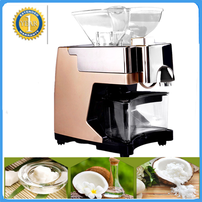 Hot Sale 110V Or 220V Coconut Oil Press Machine Grape Nut Seed Automatic ABS Plastic Pressure High Oil Extraction цены