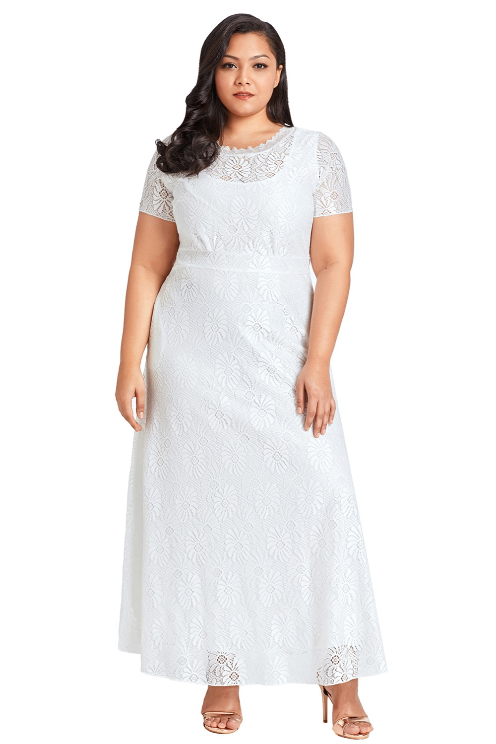 White-Plus-Size-Lace-Party-Gown-LC61917-1-3