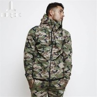 2017 Brand New Fashion Spring Autumn Mens 3d Hoodies Camouflage Style Hoodie Army Sweatshirt Tracksuit Male