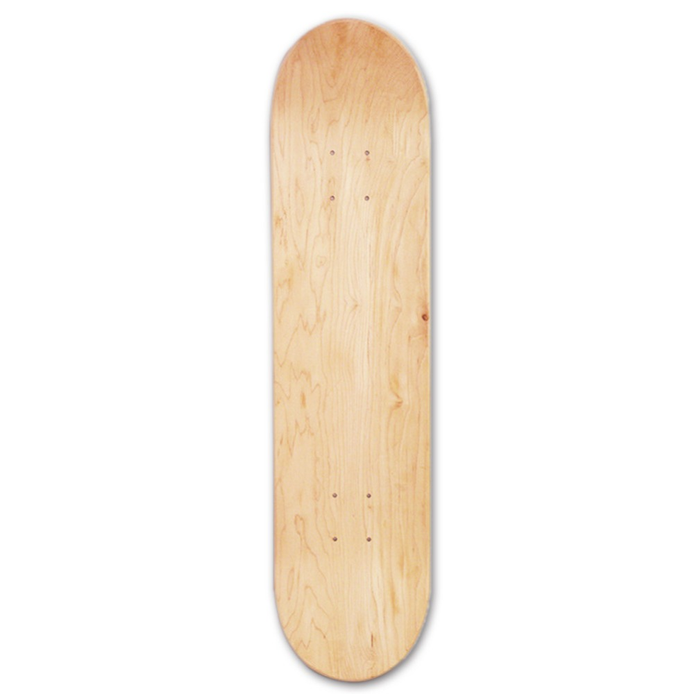 PROPRO 8inch 8 Layer Maple Blank Double Concave Skateboards Natural Skate Deck Board Skateboards Deck Wood