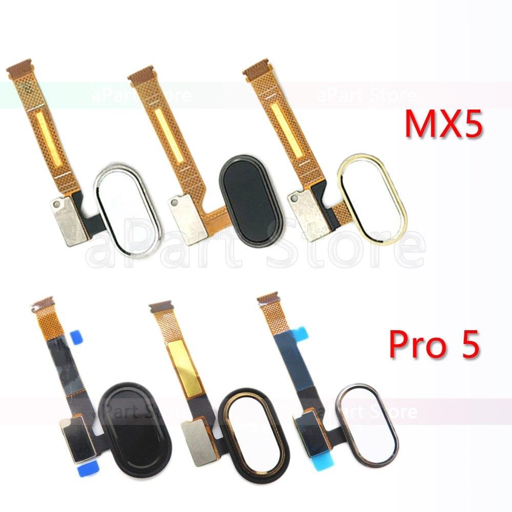 Back Home Button Key Fingerprint Sensor Flex Cable For Meizu MX5 MX 5 Pro 5 Original Phone Parts