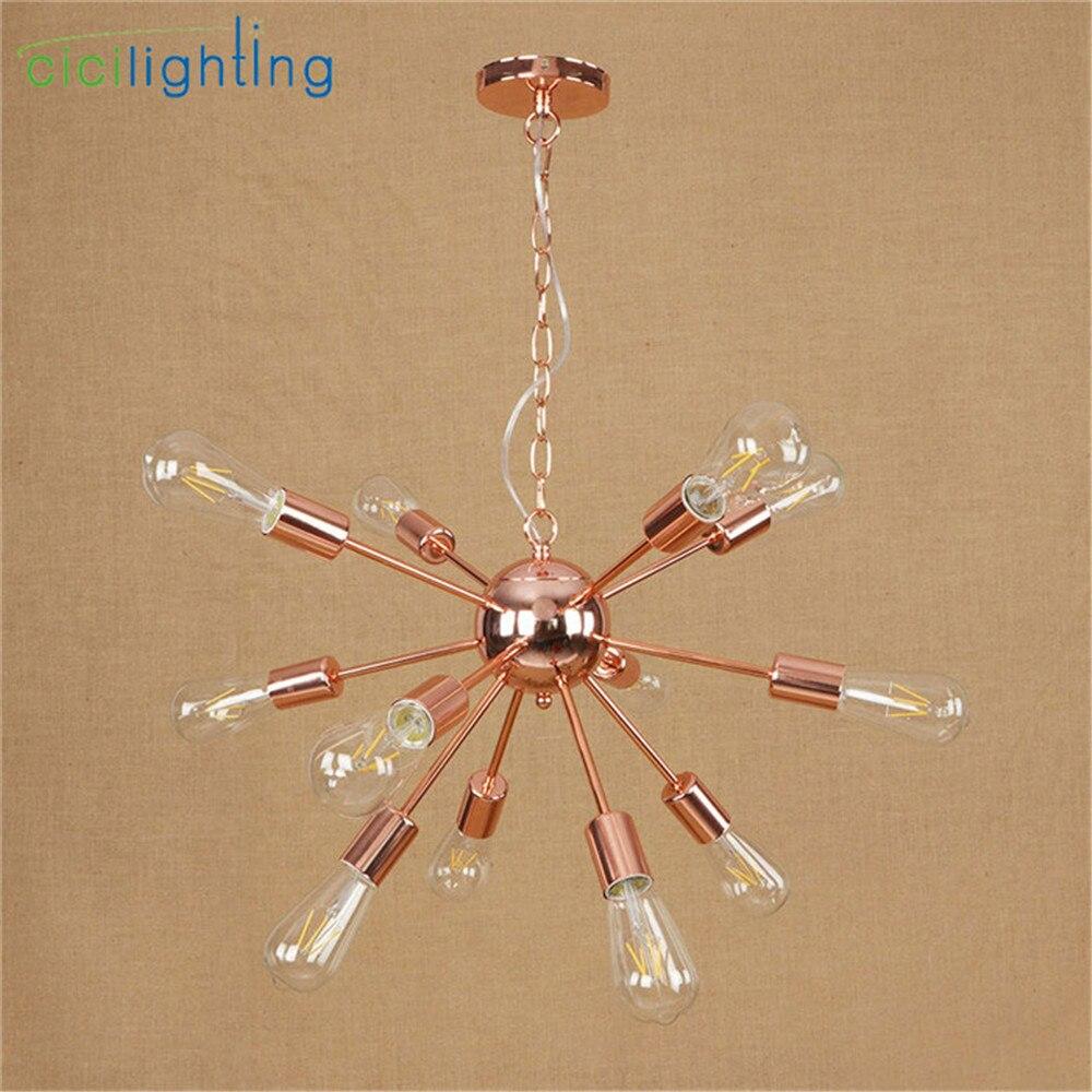 Alta qualidade banhado lustre moderno ramo de árvore aranha corrente lustre lustres 9/12/15/18/21 luz decoração da arte lâmpada pendurada - 4