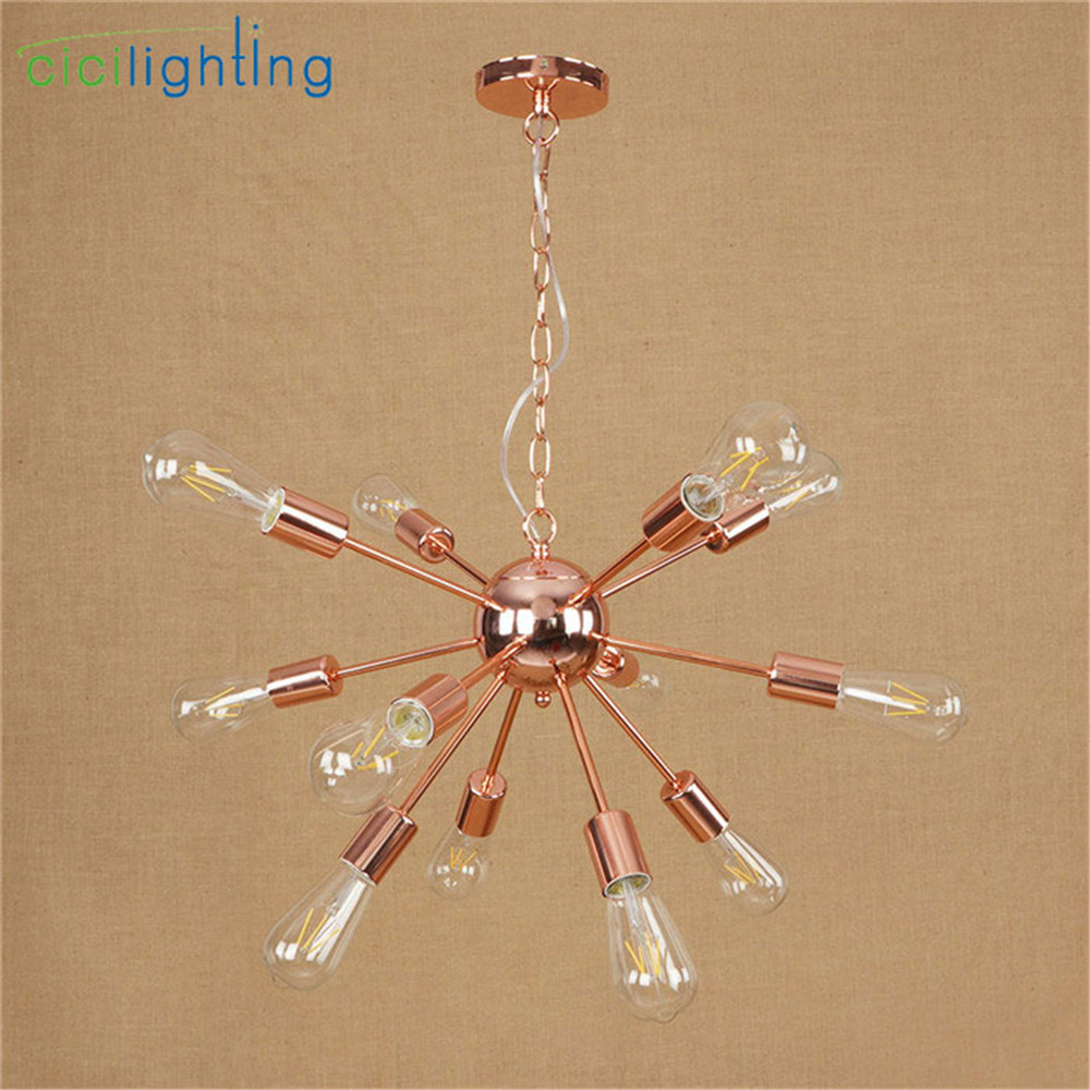 High Quality Plated Chandelier Modern Tree Branch Spider Chain lustre Chandeliers 9/12/15/18/21 light Art decor hanging lamp - 4
